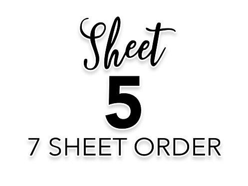 SHEET 5 OF 7