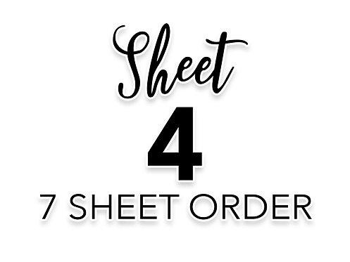 SHEET 4 OF 7