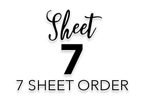 SHEET 7 OF 7