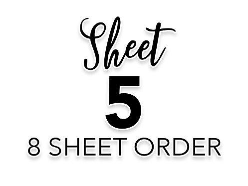 SHEET 5 OF 8