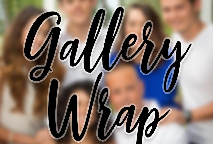 Canvas Wrap Wall Portrait
