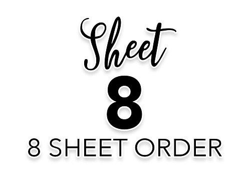 SHEET 8 OF 8