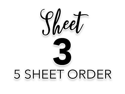 SHEET 3 OF 5