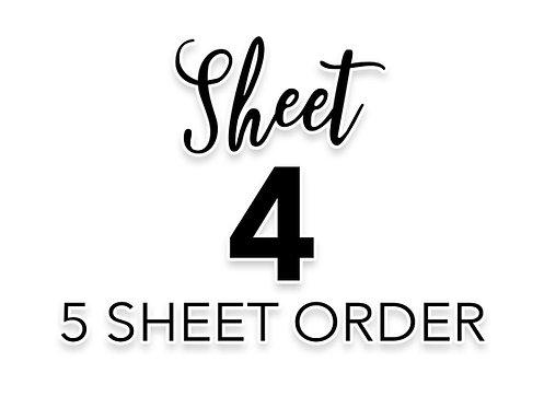 SHEET 4 OF 5