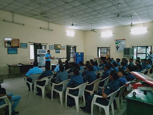 CO NCC Air-Wing unit addressing NCC cade