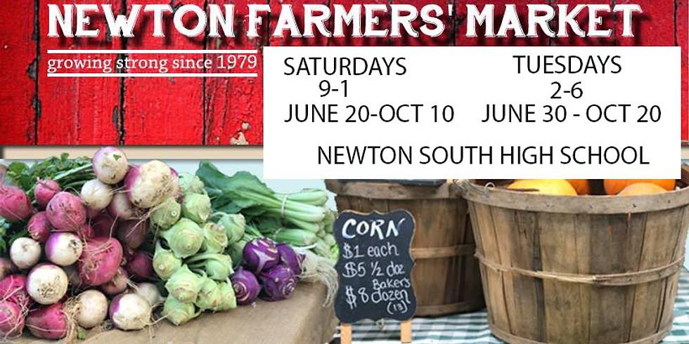 Newton Farmer's Market - TUESDAY'S
