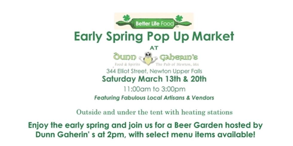 Dunn & Gaherin's  Pop-Up Market