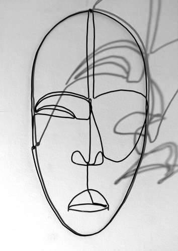 Masque ivoirien Dan