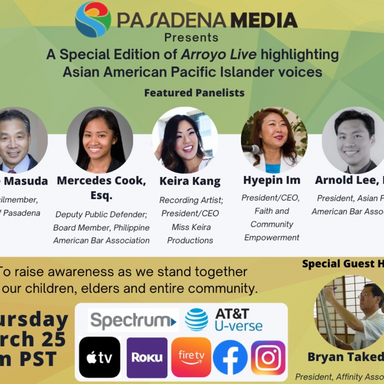 Arroyo Live: Highlighting AAPI Voices