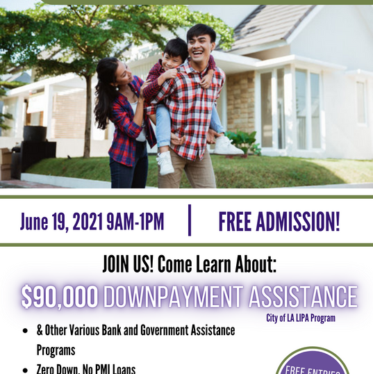JOIN US! FACE 23rd Virtual Homeownership Fair June 19, 2021 9am-1pm Free Registration!