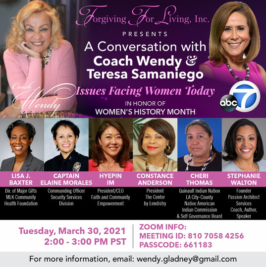 "Join FACE President Hyepin Im and other Incredible Women Close Out Women's History Month with a Conversation About ""Issues Facing Women Today"""