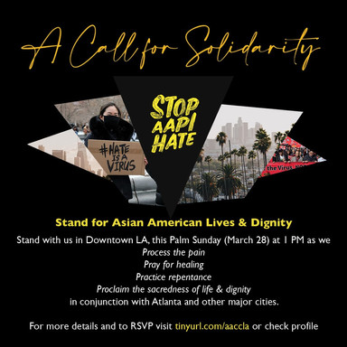 #StopAAPIHate: A Call for Solidarity