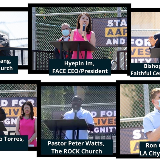 FACE Joins AACC & Other Christian Leaders at Call For Solidarity Rally to #StopAAPIHate
