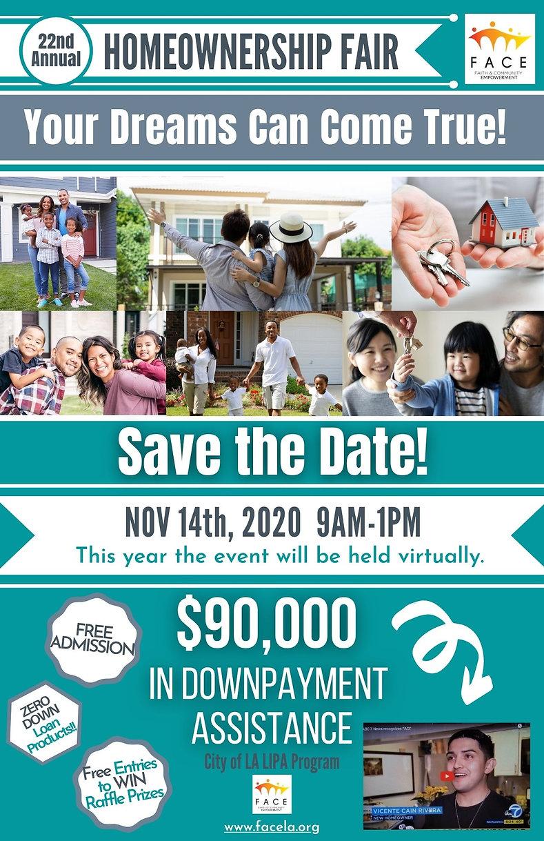 2020 Save The Date (Homeownership Fair).