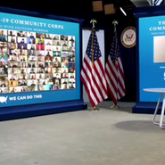 FACE CEO, Hyepin Im, Speaks at White House Press Conference with Vice President Kamala Harris & Surgeon General Vivek Murthy On Covid-19 Community Corps Initiative