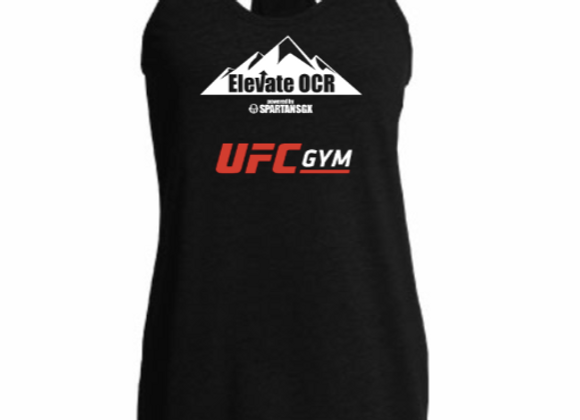 Official Spartan Race Elevate OCR Team Jersey - Womens Tank Black - Customizable