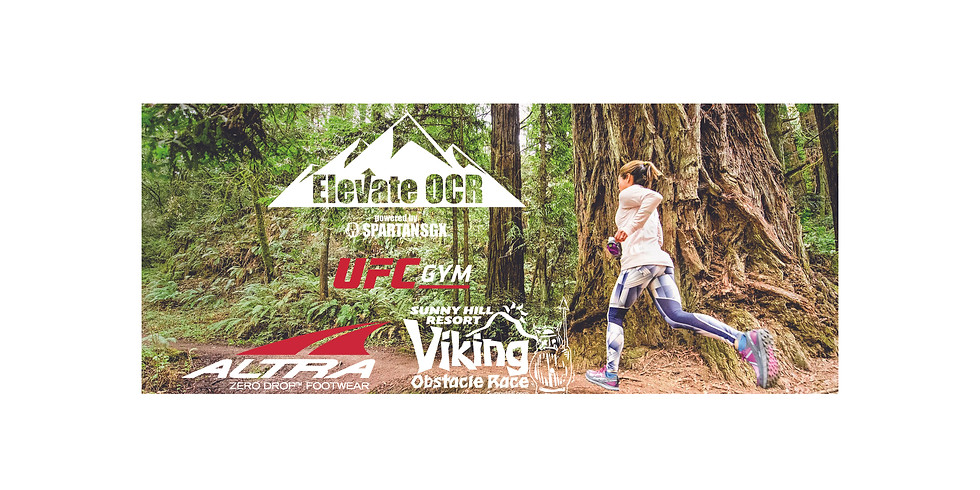 Elevate OCR March Trail Run & Spartan Training with Altra and Viking Race
