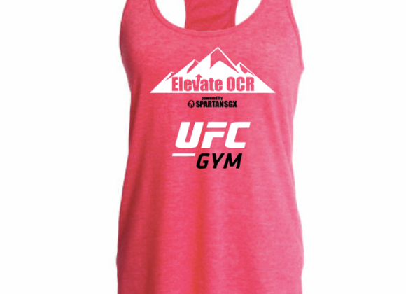 Official Spartan Race OCR Team Jersey - Womens Tank Pink - Customizable