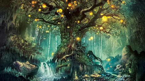 magic-forest-tree-lights-creative-design