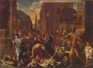 Poussin's Plague at Ashdod