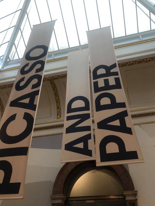 Picasso and Paper at the RA: The paper seduced me