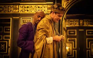 Christopher Marlowe's 'Edward II' and Tom Stuart's 'After Edward' at the Sam Wanamaker Playhouse, Th
