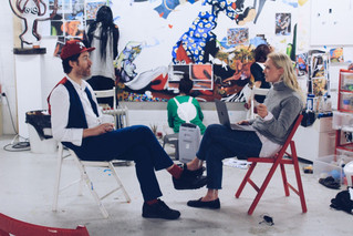 Interview and Studio Visit with 'the Godson of Andy Warhol'