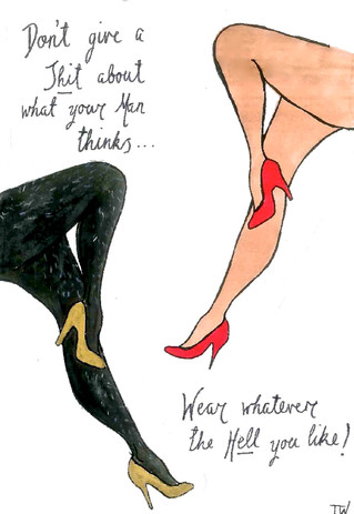 Tans or Tights? A Feminist Critique