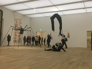 Is the art gallery the last non-judgmental public place?