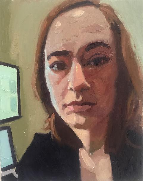 Alexandra_Oil painting on canvas _ 10x8