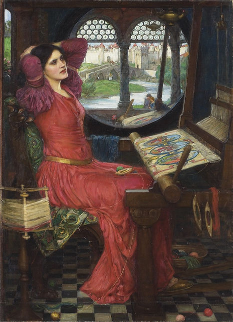 John William Waterhouse 'I am half sick