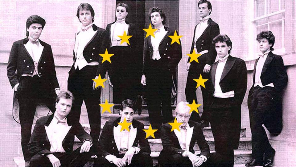 the leading voices on the EU referendum all come from the same elitist sexist Bullingdon club