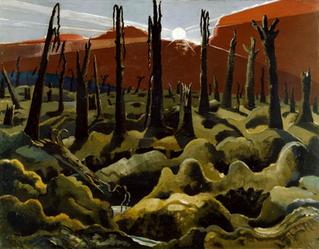 Paul Nash Review: Mysterious Places