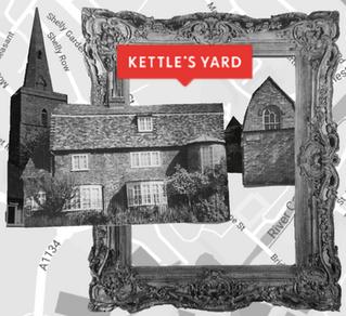 'KETTLE'S YARD, CAMBRIDGE, ENGLAND, IS THE LOUVRE OF THE PEBBLE' Ian Hamilton Finlay