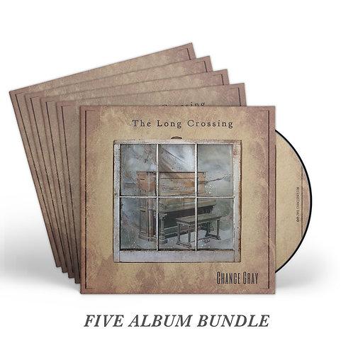 The Long Crossing (CD) – 5 Album Bundle