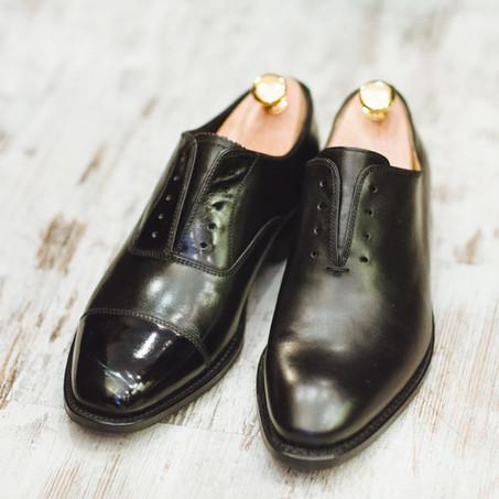 Как делать глассаж обуви