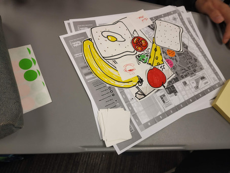Participatory design exercise to investigate food habits of international students