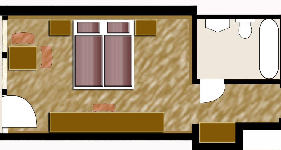 Classic Doppelzimmer mit Balkon
