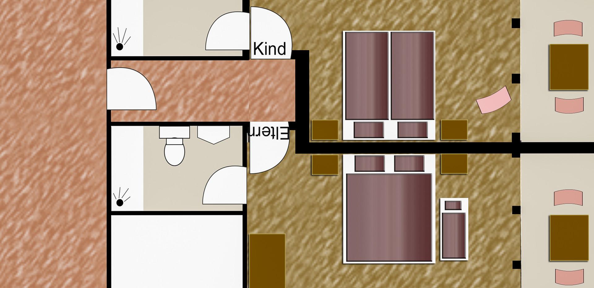 Standard Familienzimmern mit Balkon-3.jp