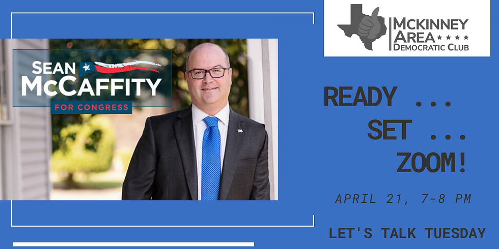 Zoom with Sean McCaffity for Congress