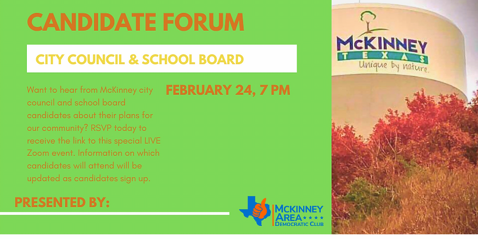MADC Candidate Forum