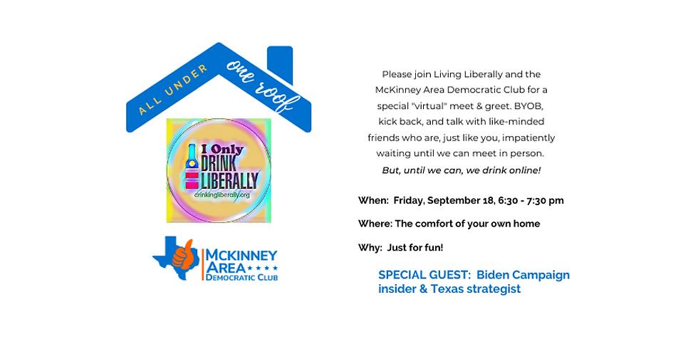 Living Liberally & McKinney Democrats September Event