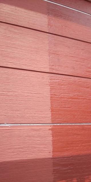 埼玉県 松伏町 ゆめみ野 T様邸 外壁下塗り塗装