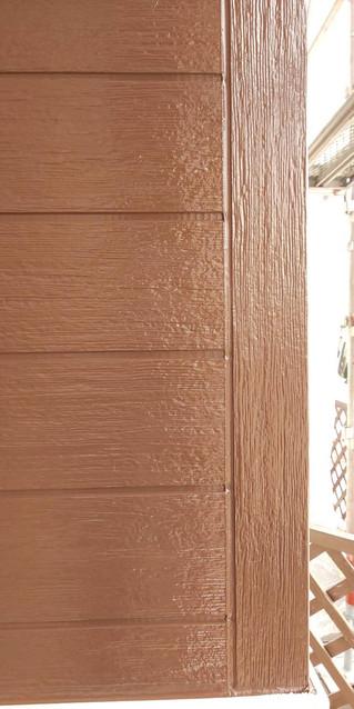 埼玉県 松伏町 ゆめみ野 T様邸 外壁塗装上塗り