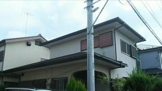 埼玉県春日部 藤塚 U様邸 外壁塗装屋根塗装完工