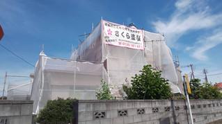 埼玉県 松伏町 松伏 S様邸 足場設置