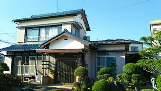 埼玉県 松伏町 松伏S様邸 外壁屋根塗装着工