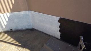 埼玉県 松伏町 築比地 K様邸 ブロック塀塗装
