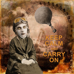 Keep Calm Orange