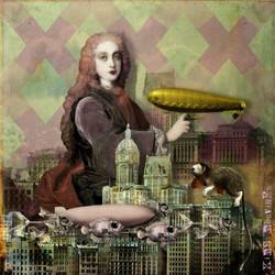 Gold Zeppelin